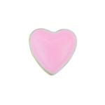 Heart Pink - Enamel Charm